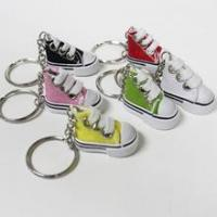 China Mini Canvas shoe key chain - Set of 6 wholesale
