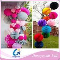 China decoration party honeycomb paper ball wholesale