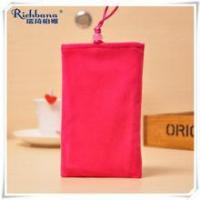 China RUIQI hang neck red mobile gift pouches wholesale