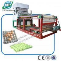 China 8 Platens Professional Chicken Egg Trays Machine for Egg Carton SHZ-3600 Factory Supplier wholesale