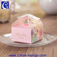 China 2015 Hollow Out Wedding Rectangle Folding Paper Box wholesale