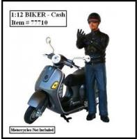 China Biker Cash Figure For 1:12 Models by American Diorama wholesale