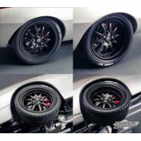China 1967 Chevrolet Camaro Street Fighter 10 Spoke Wheel and Tire Pack 1/18 by GMP wholesale
