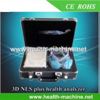 China Latest Full Body health analyzer fat monitor 3D-NLS PLUS Sub-health Detector wholesale