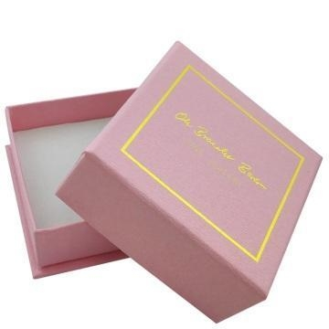 Quality Custom high quality embossing paper jewelry box for sale