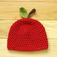 China Apple Baby Crochet Hat wholesale