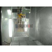 China Inside of water curtain spray booth wholesale
