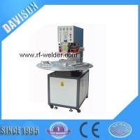 China Radio Frequency 3 Stations Manual Turntable PVC Blister Packaging Machine wholesale