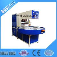 China 12KW 4 Stations Automatic Turntable Radio Frequency PVC Blister Packaging Machine wholesale