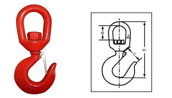 Quality US Type Swivel Hook-322 for sale