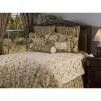 Island Song Coffee Luxury Bedding by Victor Mill