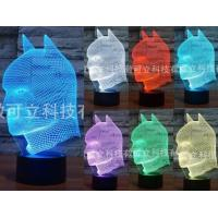 China Batman Mask 3D Led Lamp wholesale
