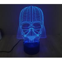 China Starwars Darth Vader 3D Led Lamp wholesale