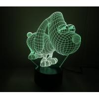 China Puppy Shape 3D Led Lamp wholesale