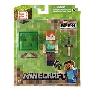 "Quality Minecraft 3"" Alex Action Figure for sale"