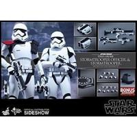 China Hot Toys Star Wars The Force Awakens Stormtrooper Officer/Stormtrooper 2 Pack wholesale