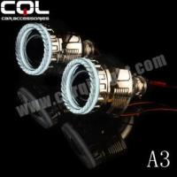 China A3 3D led angel eyes for hid projector wholesale
