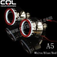 China A5 3D led angel eyes for 2.5inch 3inch hid projector wholesale