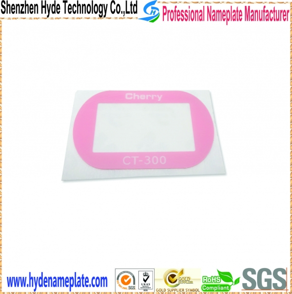 Quality 3D aluminum nameplate HY-HA2003 for sale