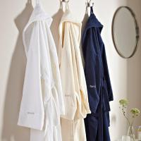 China Hotel Quality Terry Towelling Cotton Bathrobe -Colours on sale
