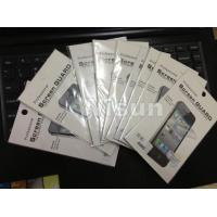 China Screen protectors for iPhone 4 4s 5 5s 5c wholesale