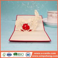 China 3d Heart Photo Pop Up Card Making Ideas wholesale