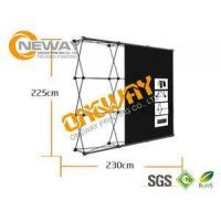 China New Design Pop Up Trade Show Displays Silver / Black For Advertising on sale