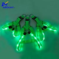 China Pet Accessories Custom Rechargeable Glowing LED Light Pet Vest Harness for Small and Large Dogs wholesale