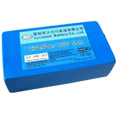 Quality 12V 5Ah Rechargeable Battery for Replacement from AGM, Gel or Lead Acid Batteries for sale