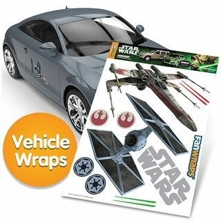 Quality Star Wars Tie-Fighter and X-Wing Decal Set for sale