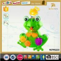 China Fun frog bath toy organizer for toddler wholesale