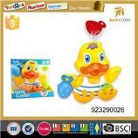 China Baby Duck Waterproof Cartoon Funny Soft Custom Bath Toys For Kids wholesale