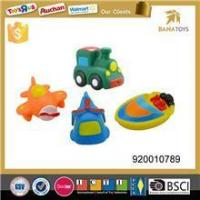 China cute pvc baby car toy vehicle,plastic plane helicopter boat toy baby bath toy wholesale