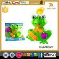 China Hot selling fun cartoon frog toy kids bath toy wholesale wholesale