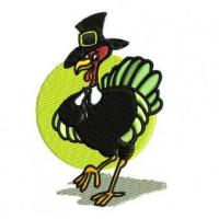 China Tom Turkey Embroidery Design wholesale
