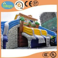 Cheaper price quick lead time inflatable water slide for kids and adults