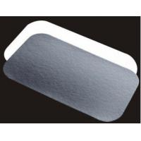 China Aluminum foil trays with paper lid wholesale