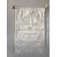 China Fabric Material Canvas Laundry Bags with Drawstring wholesale
