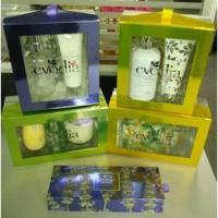 China 2017 elegant cosmetics packaging box wholesale