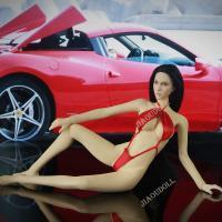 China 1/6 Action Figure Clothes Sexy Red Bikini for 12 inch action Figure Female Body wholesale