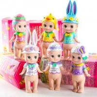 China 6pcs Sonny Angel Happy Easter Series Mini Action Figures Doll Kids Children Toy $24.95 wholesale