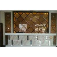 Buy cheap Clear, low Iron Mirror Art Panel Glass for Background Wall, screen Wall, kitchen, desk and Table from wholesalers