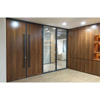 Buy cheap 100 double wooden face partition from wholesalers