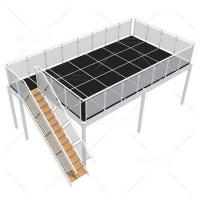 China 4m x 9m Two Level Exhibition Booths wholesale