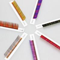 Buy cheap Color mink eyelash extension from wholesalers