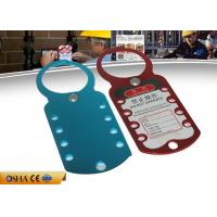 Buy cheap Eight Hole Aluminum HASP Lockout , 180 Mm * 70 Mm 79g Safety Lockout Hasp from wholesalers