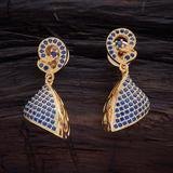 Buy cheap Zircon Blue Sapphire Earring 84795BS from wholesalers