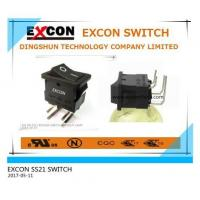 Buy cheap 15*21MM ROCKER BENDING TERMINAL SWITCH from wholesalers