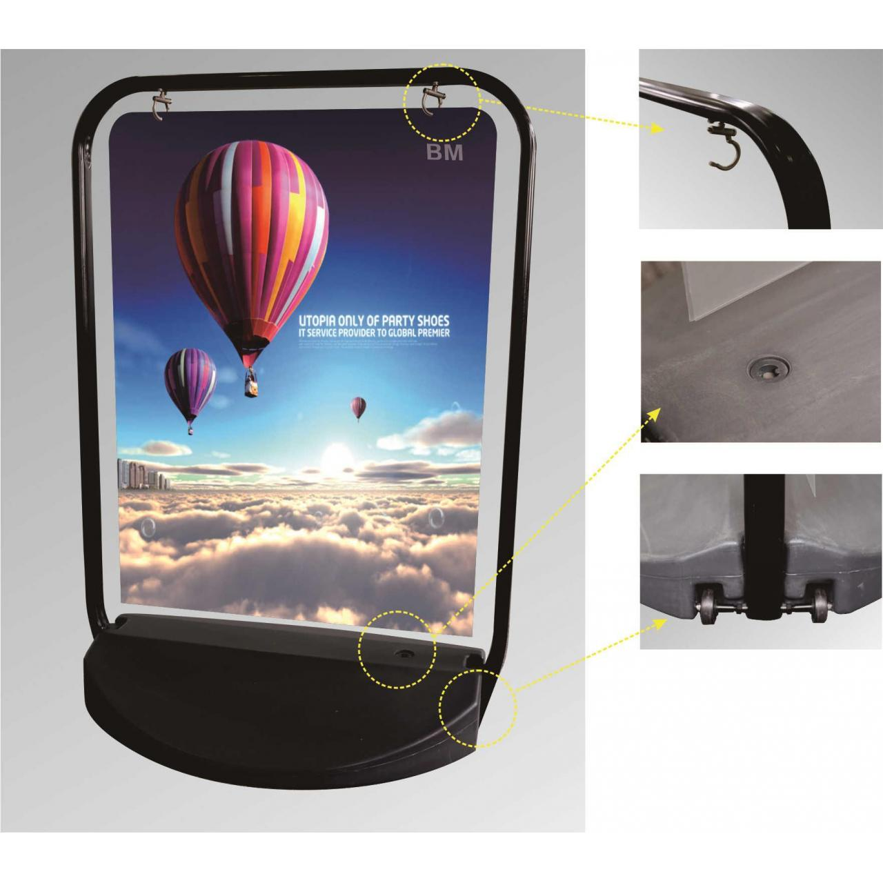 Buy cheap Hanging poster frame from wholesalers