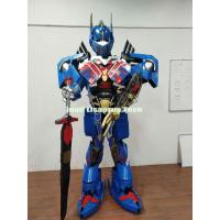 China Halloween Costumes and Decorations Transformers Optimus Prime Armor Robot costume for Party wholesale